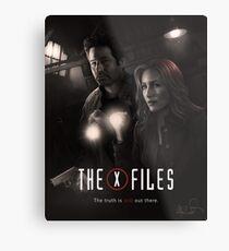 The X-files Poster s11 n°2 Metal Print