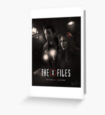 The X-files Poster s11 n°2 Greeting Card