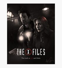 The X-files Poster s11 n°2 Photographic Print