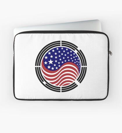 Korean American Multinational Patriot Flag Series Laptop Sleeve