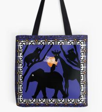 Twilight at the Zoo Tote Bag