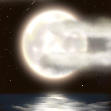 Moon by DarthMonter
