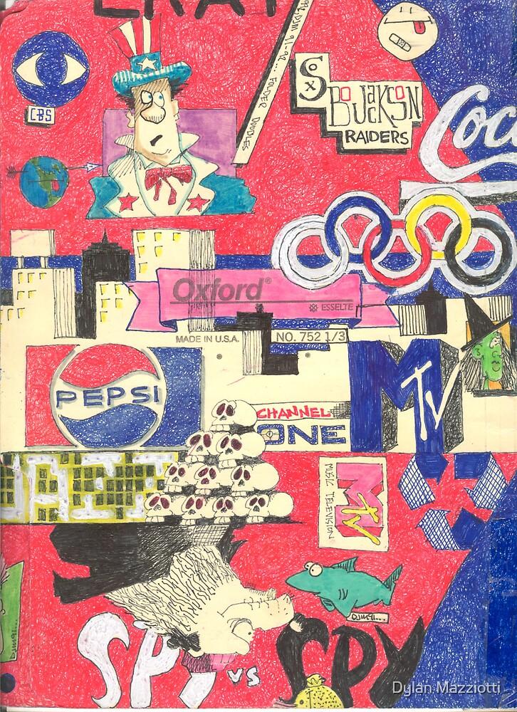 Folder 004 - Inside Left by Dylan Mazziotti