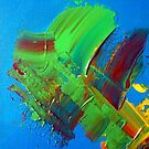 Energetic Abstractions - Painted Love Hearts by Rosetta Elsner ARTist
