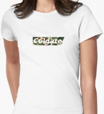 Supreme but its colgate lmao Womens Fitted T-Shirt