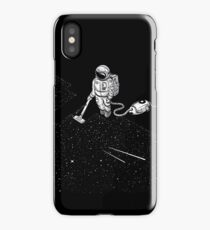 Space Cleaner iPhone Case/Skin