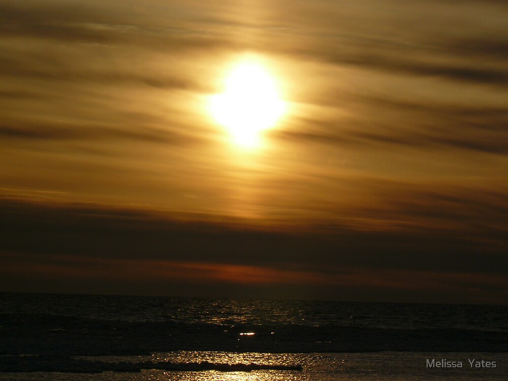 Golden Sunset by Melissa  Ousley