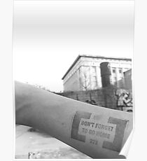 Berghain - Don't forget to go home  Poster