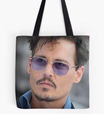 Cool Johnny Depp Tote Bag