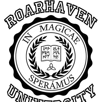 Roarhaven University (Black) by rtycoss