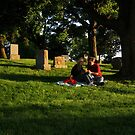 Graveyard Picnic by Photo11