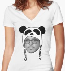 Robert Downey Jr RDJ Tee Women's Fitted V-Neck T-Shirt