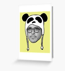 Robert Downey Jr RDJ Tee Greeting Card