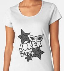 Joker- The Trickster Women's Premium T-Shirt