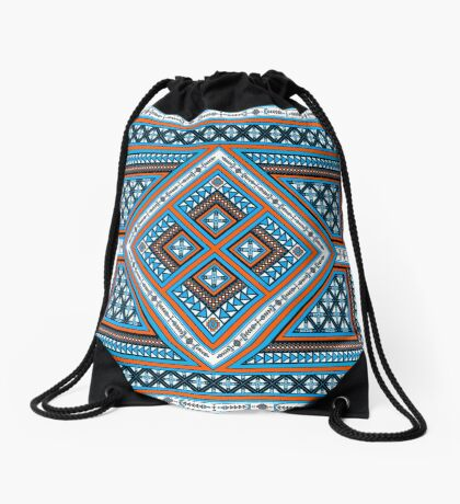 Path We Tread Drawstring Bag