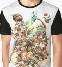 Fantasy Crystal Graphic T-Shirt