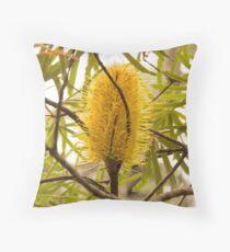 Western Australian banksia Throw Pillow
