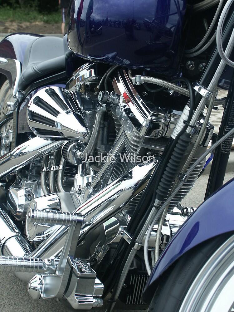 Harley Engine by Jackie Wilson
