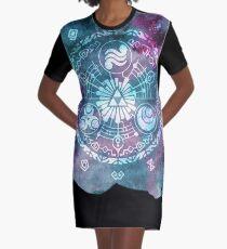 Zelda Skyward Gate Sword of Time Graphic T-Shirt Dress