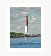 Barnegat Lighthouse - Barnegat NJ Art Print