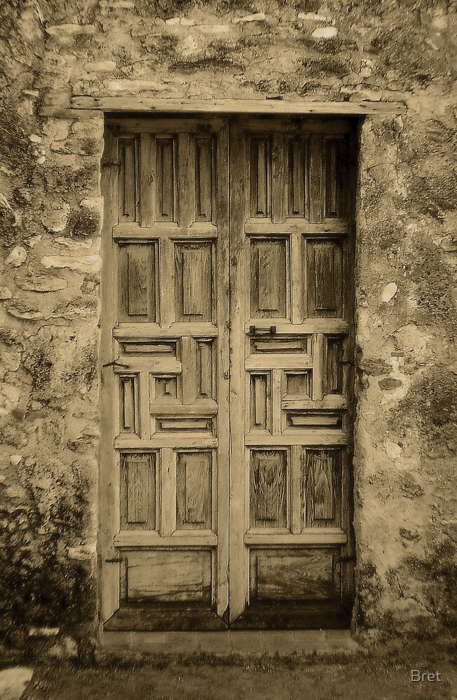 Mission Door by Bret