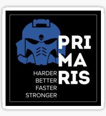 Primaris Space Marine Daft Punk - Warhammer 40k Sticker