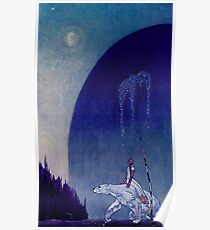 """East of the Sun and West of the Moon"" - by Kay Nielsen Poster"
