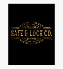 SWEETWATER LOCK & SAFE CO. Photographic Print