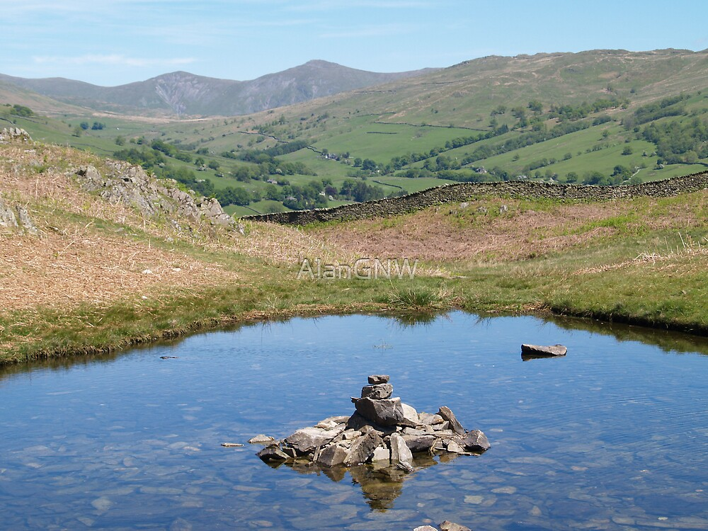 Small Tarn by Alan Gandy