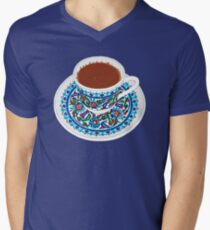Turkish Coffee V-Neck T-Shirt