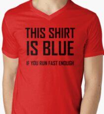 This Shirt Is Blue, If you Run Fast Enough- Funny Physics Joke T-Shirt