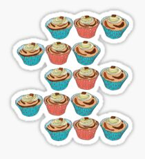Happy Cup Cakes! Sticker