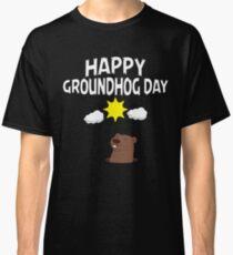 Happy Groundhog Day Cute T Shirt Classic T-Shirt