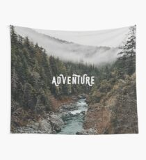 River in the Forest - Adventure Wall Tapestry