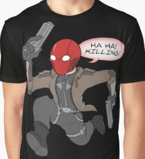 Red Hood- Time to Kill! Graphic T-Shirt