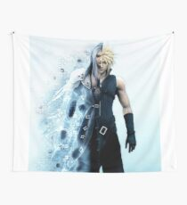 Final Fantasy VII - Sephiroth and Cloud Wall Tapestry