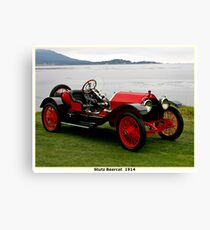 STUTZ BEARCAT: Vintage 1914 Automobile Print Canvas Print