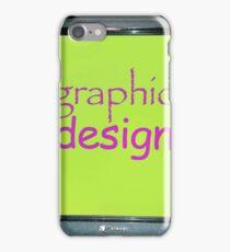 graphic design iPhone Case/Skin