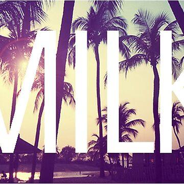 MILK - Palm Tree logo hoodie by FinallyCallum