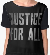 Justice for All Women's Chiffon Top