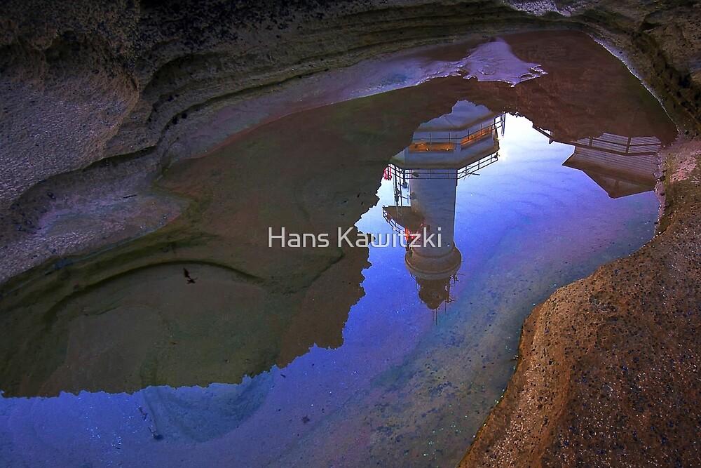 0684 Inverted Lighthouse - Pt Lonsdale by Hans Kawitzki