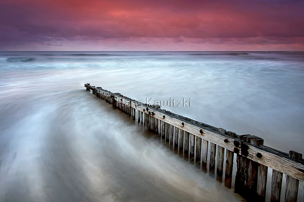 0685 Incoming Tide - Raafs Beach by Hans Kawitzki