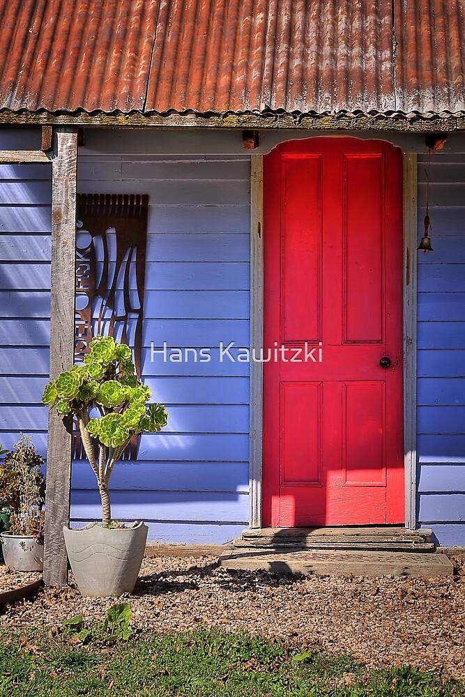 0687 Red Door by Hans Kawitzki