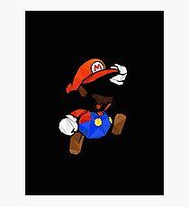 Mario T-shirt Photographic Print