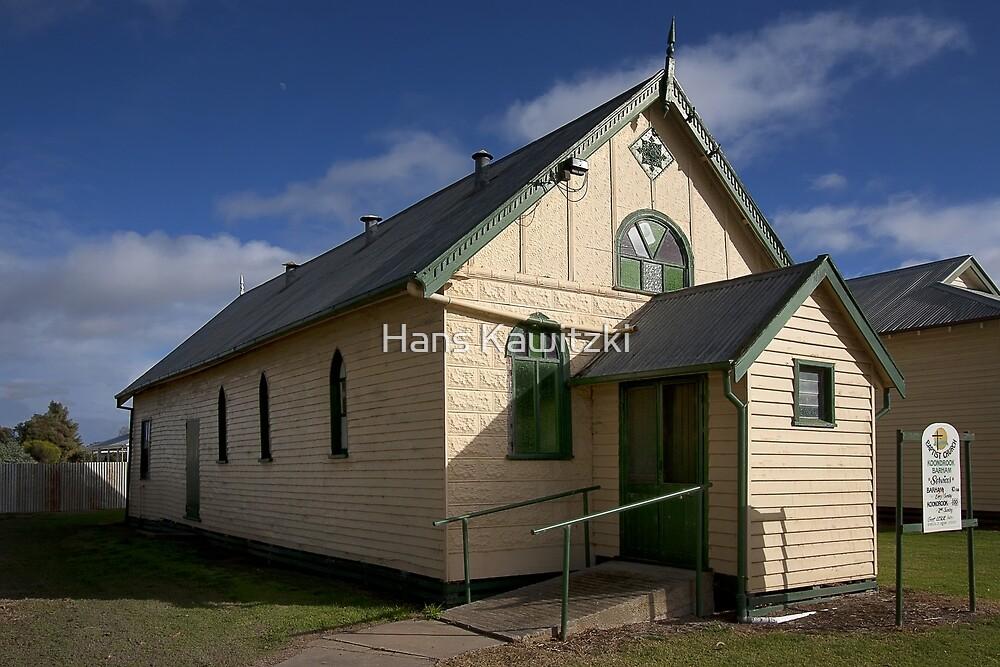 0692 Babtist Church - Koondrook by Hans Kawitzki
