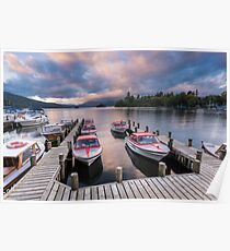 Lake District: Windermere Poster