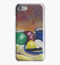Fruit and Coffee iPhone Case/Skin