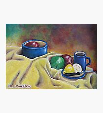 Fruit and Coffee Photographic Print