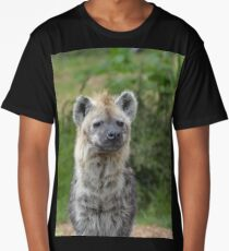 Spotted hyena at Colchester Zoo Long T-Shirt