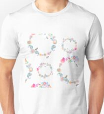 Paisley pattern hand-painted watercolor Unisex T-Shirt